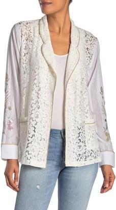 Aratta Your Innocence Lace Kimono Jacket