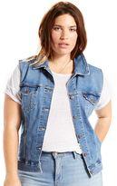 Levi's Plus Size Jean Vest
