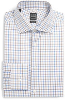Ike Behar Long Sleeve Regular Fit Check Dress Shirt
