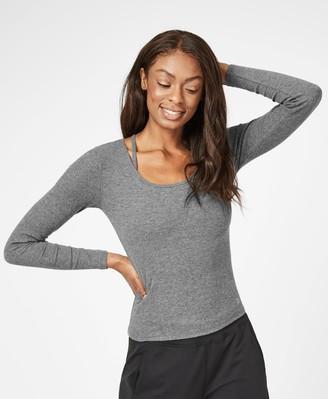Sweaty Betty Tadasana Ribbed Yoga Top