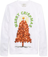 American Rag Men's Merry Crispmas Bacon Sweatshirt, Only at Macy's