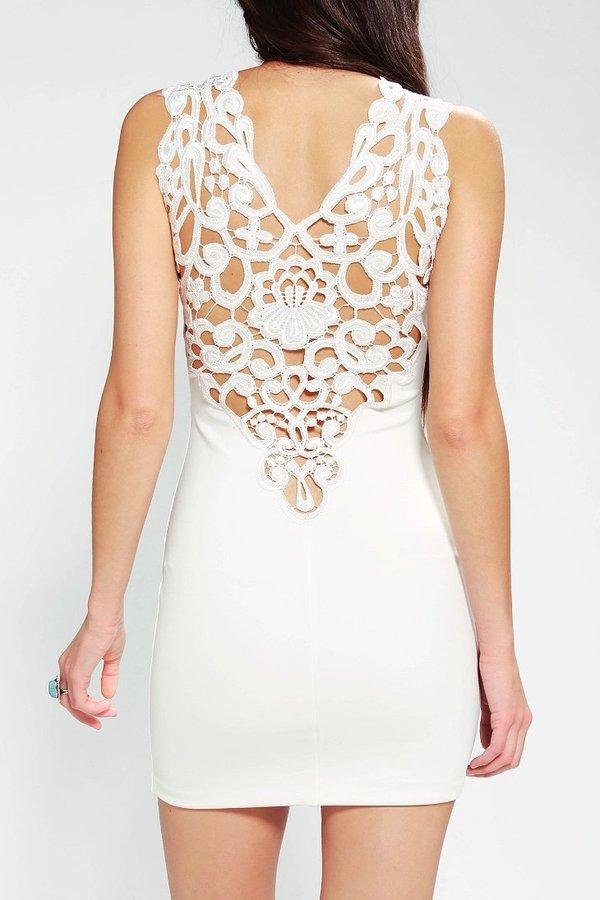 One Rad Girl Mariana Bodycon Lace Dress