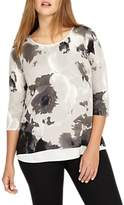Studio 8 Fanella Jumper, Black/White