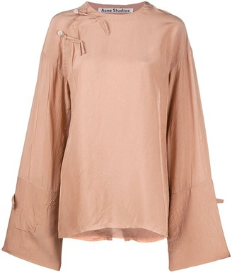 Acne Studios Bell-Sleeve Oversized Top
