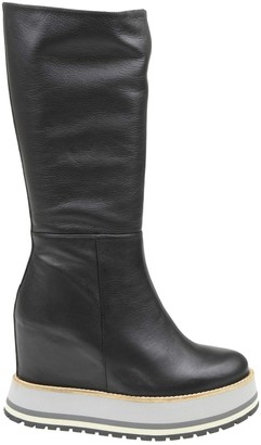 Paloma Barceló Metz Boot In Black Leather
