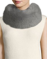 Escada Fox-Fur Collar