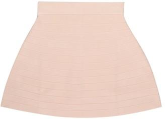 Emporio Armani Kids Ribbed-knit skirt