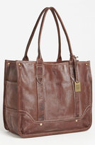 Frye 'Campus' Leather Shopper - Brown