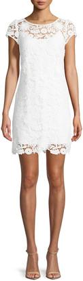 Milly Chloe 3D Lace Dress