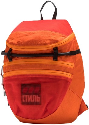 Heron Preston Ctnmb Foldable Backpack Orange