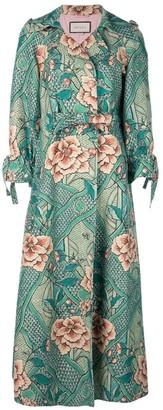 Gucci Loraine floral print coat