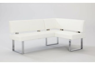 Wade Logan Linden Upholstered Faux Leather Bench