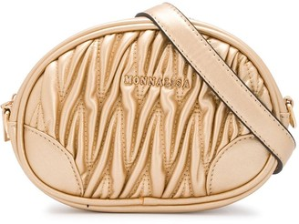 MonnaLisa Matelasse Logo Belt Bag