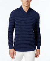 Tommy Bahama Men's Chief Officer Island Stripe Shawl-Collar Sweater