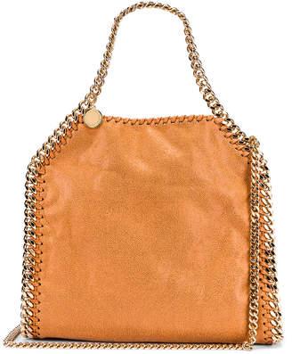 Stella McCartney Mini Falabella Chain Tote in Tan | FWRD