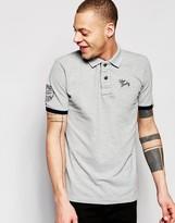 Tokyo Laundry Sleeve Logo Polo Shirt
