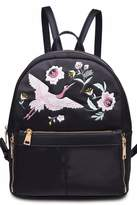 Urban Expressions Rio Embroidered Backpack