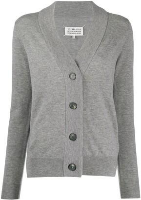 Maison Margiela Button-Up Wool Cardigan