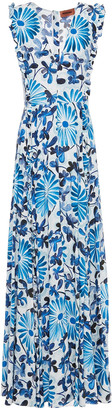 Missoni Floral-print Woven Maxi Dress