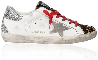 Golden Goose Superstar Leo with Red Laces