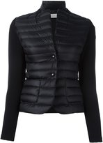 Moncler padded front jacket - women - Feather Down/Polyamide/Polyester/Spandex/Elastane - S