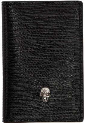 Alexander McQueen SSENSE Exclusive Black Skull Pocket Organizer