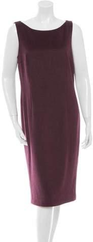 Dolce & Gabbana Angora Sleeveless Dress