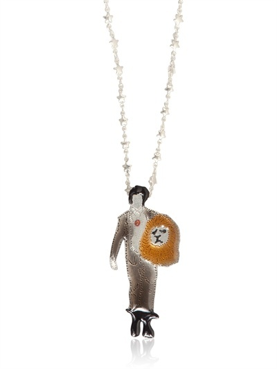 Défilés From Paris Haute Couture Pendant Necklace