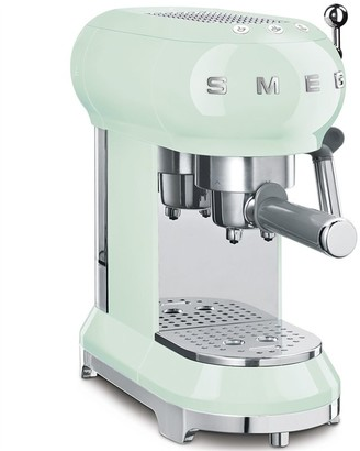 Smeg Espresso Machine - Pastel Green