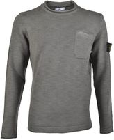 Stone Island Crew Neck Knit Sweater