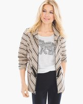 Chico's Neema Striped Jacket