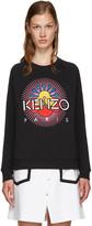 Kenzo Black Tanami Flower Pullover