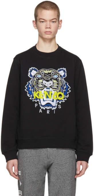 Kenzo (ケンゾー) - Kenzo ブラック タイガー スウェットシャツ