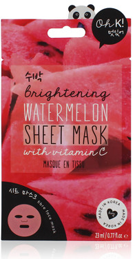 Oh K! Brightening Watermelon Sheet Face Mask
