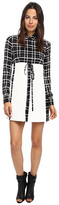 DSQUARED2 Gingham Pattern Shirt Dress