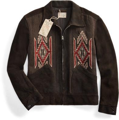 Ralph Lauren Panelled Suede Western Jacket