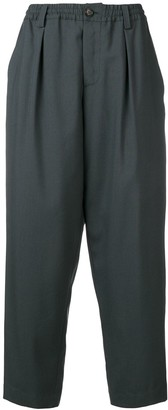 Marni Elasticated Waist Tapered Trousers
