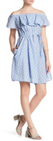 Joe Fresh Off-the-Shoulder Print Dress