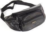 SNUGRUGS Soft Nappa Leather Bum Bag / Waist Bag with Multiple Pockets