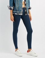 Charlotte Russe Ankle Length Stretch Cotton Leggings