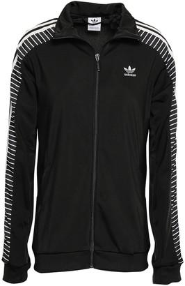 adidas Striped Tech-jersey Track Jacket