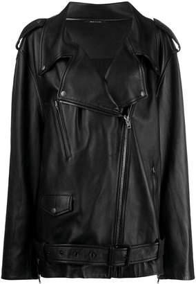 Maison Margiela maxi biker archive jacket