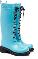 Ilse Jacobsen Rub75 Regatta Blue Tall Lace Wellington Boots