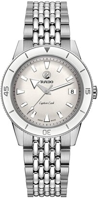 Rado 37 mm Captain Cook Automatic - R32500013 (White) Watches