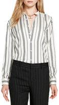 Polo Ralph Lauren Relaxed-Fit Striped Silk Shirt