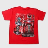 Power Rangers Boy's T-Shirt - Red