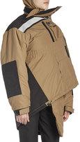 Balenciaga Pulled Asymmetric Parka Jacket