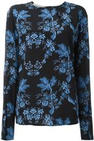 Stella McCartney floral print T-shirt - women - Silk - 44