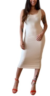 Bar III Ribbed Bodycon Dress, Created For Macy's