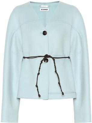 Jil Sander Belted cashmere coat